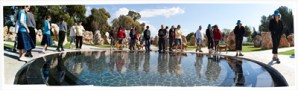 Memorial to the Helicopter Crash in the North near Kiryat Shmoneh (12 x 40) digital print by Bill Aron Courtesy 92nd Street Y