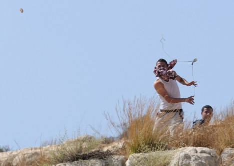 arab stone thrower
