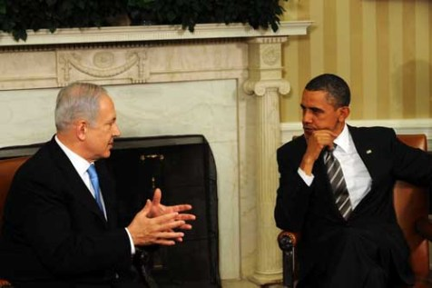 Obama and Netanyahu in the Oval Office