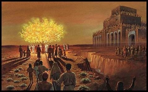 Nephi built a temple