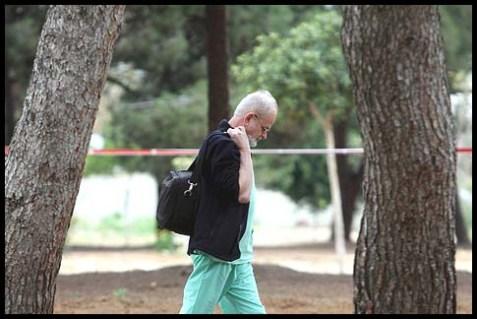 Professor Yehuda Hiss, the chief pathologist at the Abu Kabir Institute of Forensic Medicine near Tel Aviv.