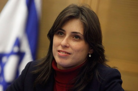 MK Tzipi Hotovely (Likud).