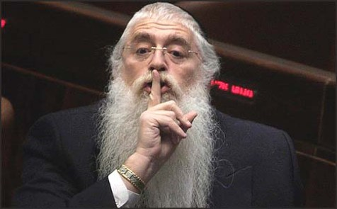 MK Rabbi Meir Porush