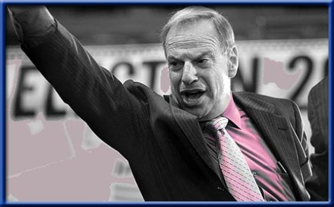 Bob Filner on Election Night.