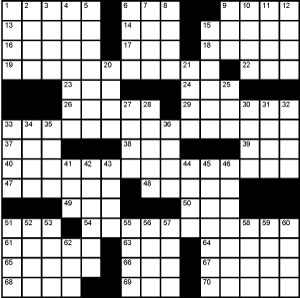 Crossword-Bar-Mitzvah