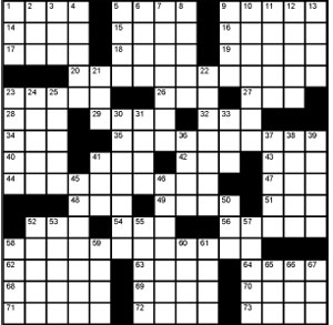 Crossword-Yom-Kippur