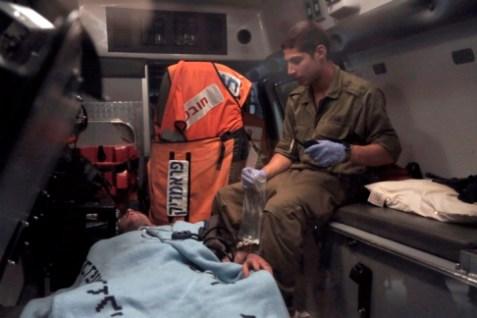 Injured Jeep Soldeir
