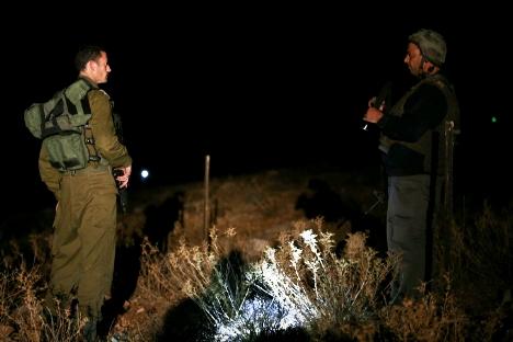 rocket hits in gush etzion