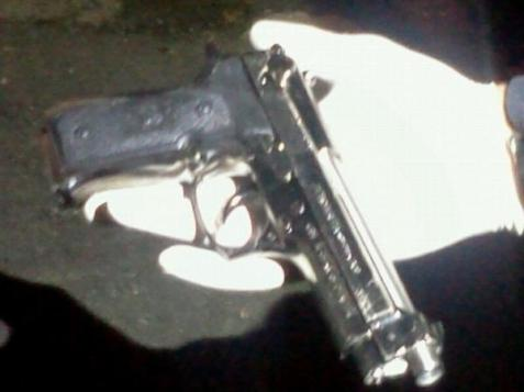 This is the fake gun used in the terror attack in Hebron.