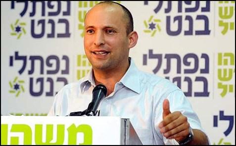 Jewish Home Chairman Naftali Bennett