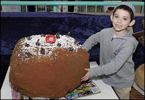 Biggest Recycled Jelly Doughnut