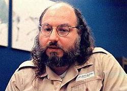 File photo of Jonathan Pollard in prison.