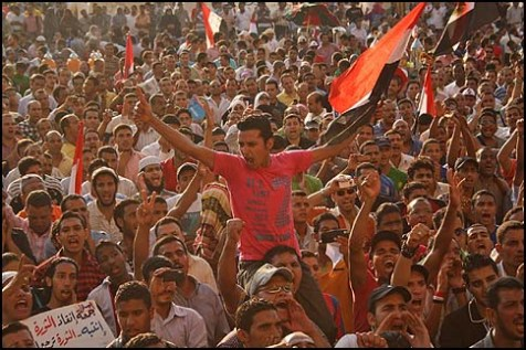 tahrir march