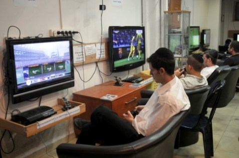 On Nittel Nacht religious Jews play games instead of learning Torah.