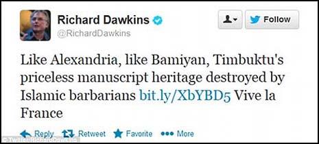 Dawkins Twieet