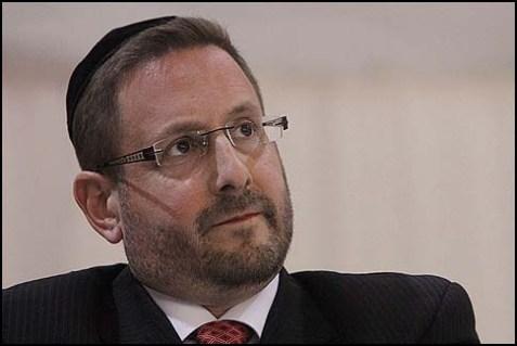 Yesh Atid MK Rabbi Dov Lipman.