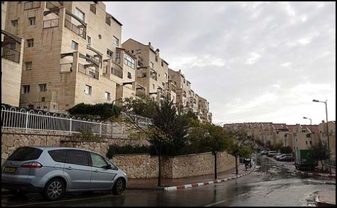 A view of the settlement of Efrat, south of Jerusalem, between Bethlehem and Hebron. with more than 8,000 middle class residents, this town pays exorbitant taxes in return for government services, like any other middle class town in Israel.