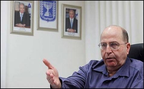 Vice Premier Moshe Yaalon