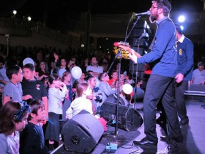 8th Day performs at Chabad of South Broward's Chanukah festival.