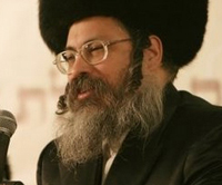 Tolna Rebbe Of Jerusalem