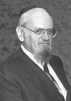 """Rabbi Sholom Klass, zt""""l"""