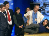 "In a skit on the Eretz Nehederet satire program, Ayelet Shaked of the Jewish Home is depicted as agreeing to be the victim of a ""Gimpel style"" sacrifice with nationalist members of the Likud and Jewish Home."