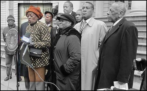 Assemblywoman Inez Barron and African-American leaders want Hikind to pay dearly for his Purim costume.