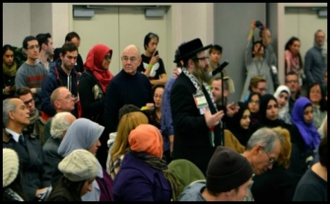 Jews Who Were Allowed in to Brooklyn College BDS Event