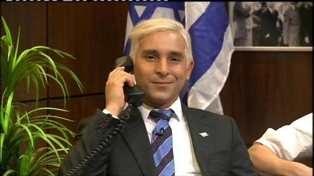 Netanyahu as satirist Idelman