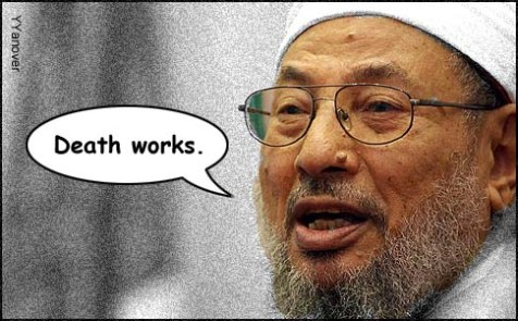 Yusuf al-Qaradawi, head of the Muslim Brotherhood, said on Egyptian television, &quot;If they [Muslims] had gotten rid of the punishment [often death] for apostasy, Islam would not exist today.&quot;
