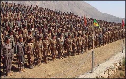 Kurdish rebels in Turkey.