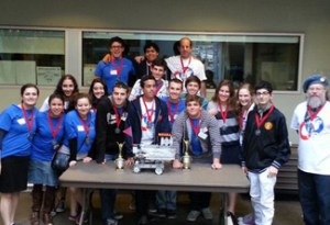 Host YULA wins top honors at first robotics competition.