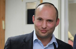 Naftali Bennett, chairman of Bayit Yehudi