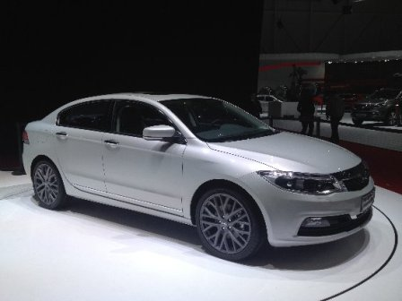 The New Chinese-Israeli Qoros compact sedan