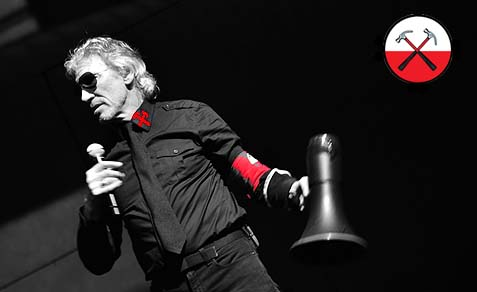 Roger Waters of Pink Floyd fame promotes hatred and boycotts of Israel.