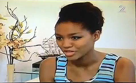 Yityish Aynaw, Miss Israel 2013, was asked to attend the State Dinner for President Obama.