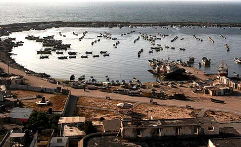 Gaza harbor
