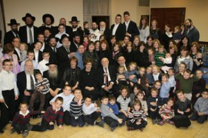 Mr. Weinberg and his family at his 90th birthday celebration
