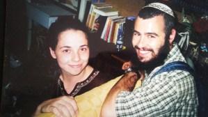 Yishai & Malkah Fleisher (then Melissa Bernath) at Cardozo Law