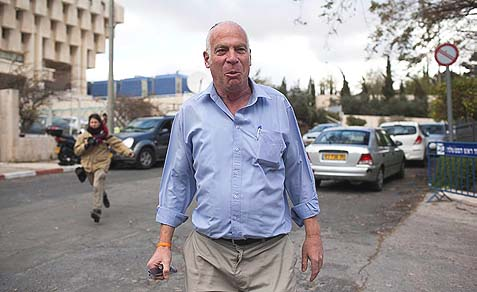 Housing and Construction Minister Uri Ariel.