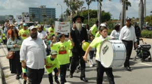 South Florida Lag B'Omer parade celebration