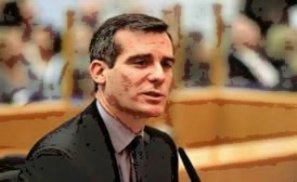 Eric Garcetti won a tight election to become LA's first Jewish Mayor