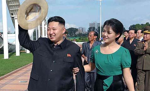 Kim Jong-un (Left)