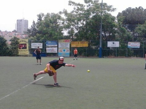"Jerry's Kids played to a rare tie with Perl Pigments, heading down the stretch in the ""All Star Israel"" Softball League."
