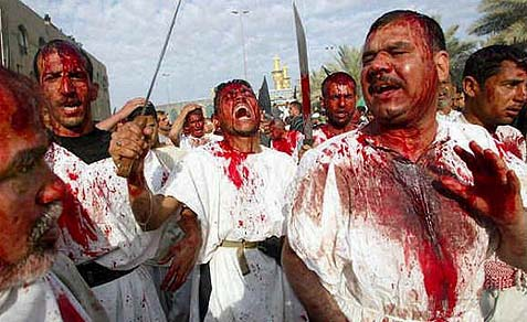 The Shiite blood festival.