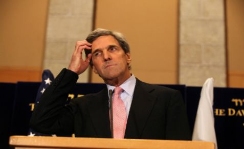 John Kerry downsized Ambassador Oren for Israel's recognizing Jewish communities in Samaria.