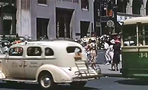 1939 New York in HD Color