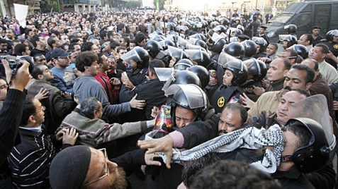 Clashes in Egypt