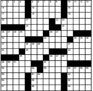 Crossword-Tanna