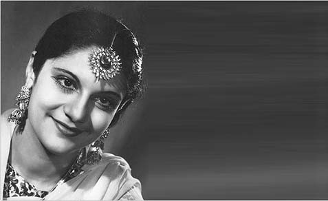 The first Miss India, picked in 1947, Esther Victoria Abraham (1916-2006).